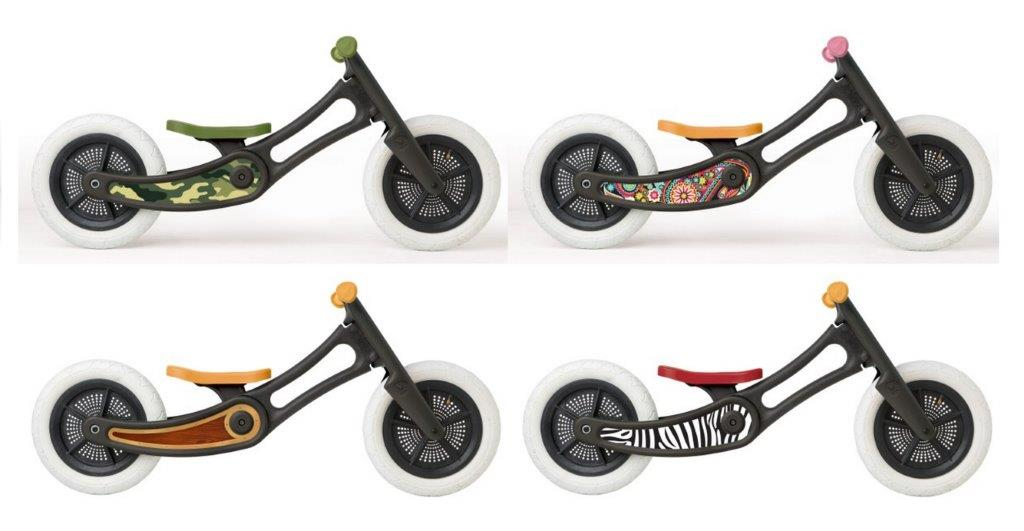 Wishbone Balance Bike Recycled Ed. - Stickers Only