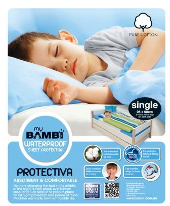 Save Our Sleep Bambi Potty Training Sheet Protector