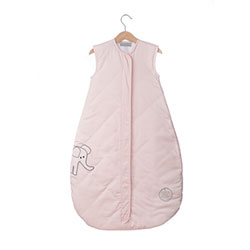 (10) Save Our Sleep, Safe Baby Sleep Bag 'Elzzie Elephant, Pink' Travel 1 TOG 2-3.5 yrs