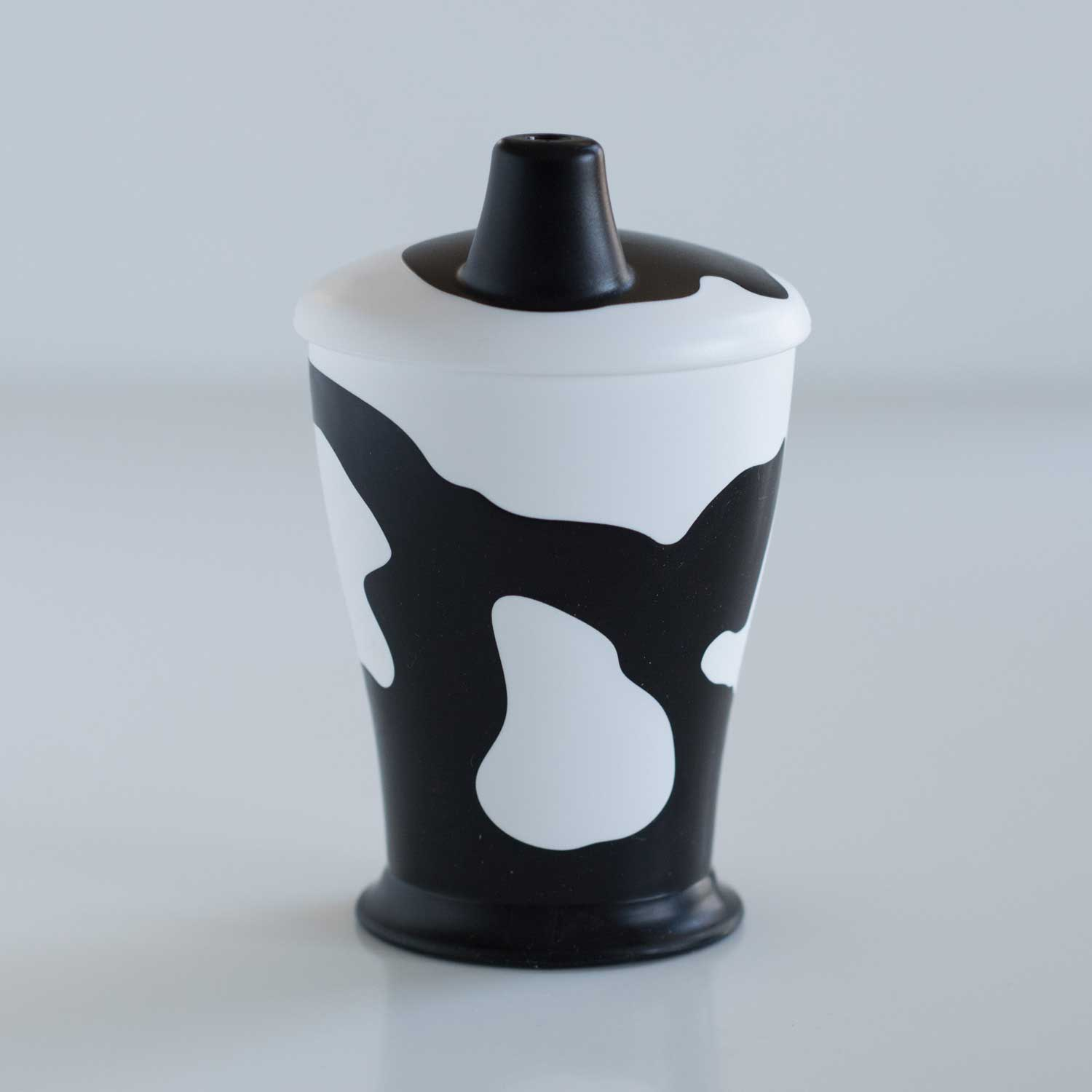 Anywayup Cup BIG Cow Cup (Beaker) - Black & White