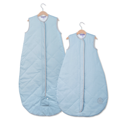 Save Our Sleep, Safe Baby Sleep Bag 'Blue with Platinum Binding' Travel 0.5, 1 TOG or 2.5 TOG