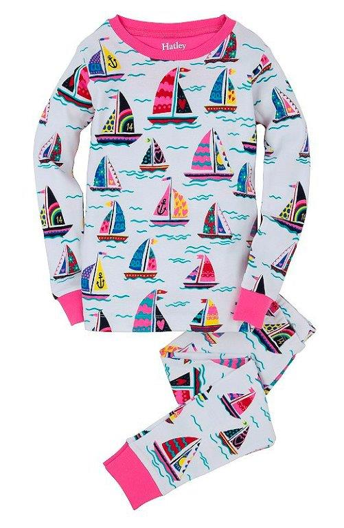 Hatley PJs - Girls Sailboats