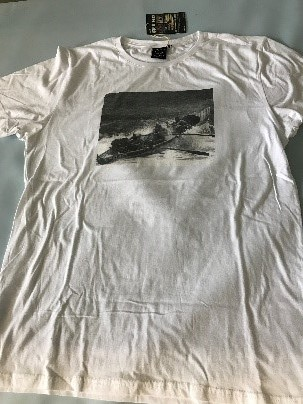 Mens - Printed Surf Boat T–Shirt