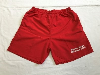 Red Shorts - Adult