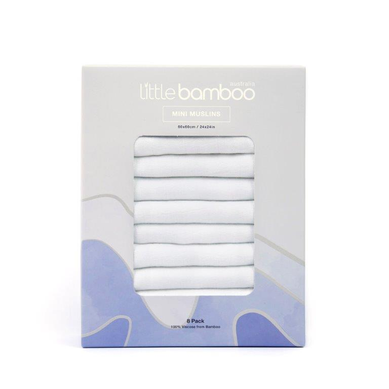 Little Bamboo - Bamboo Mini Muslin 8 Pack (6)