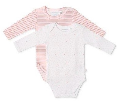 Marquise Long Sleeve Bodysuit - Girls 2pk - 0000 (2)