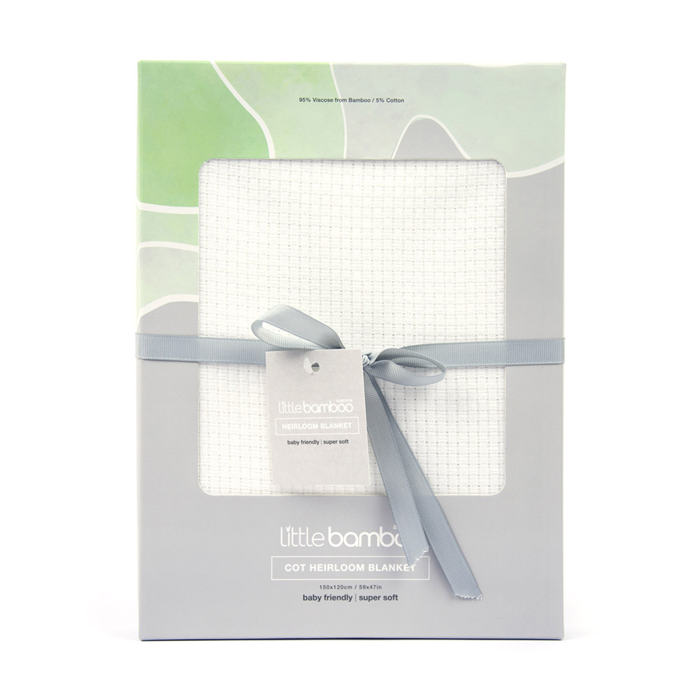 Little Bamboo' Cot Bamboo Blanket
