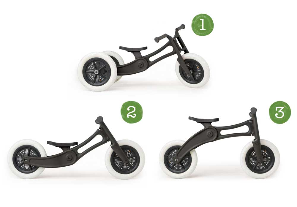 Wishbone 2 in 1 to 3-in-1 Balance Bike Conversion Trike Kit (2)