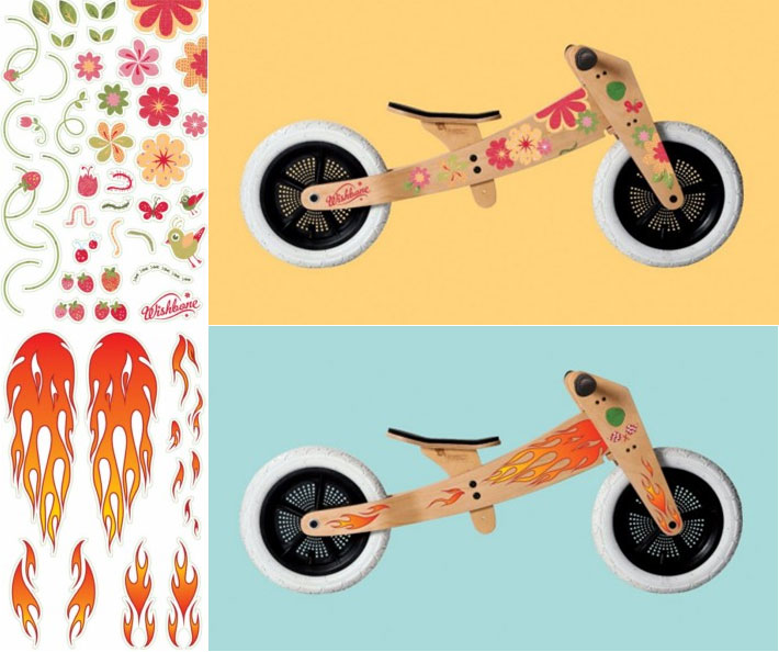 Wishbone Balance Bike Original Ed. - Stickers Only