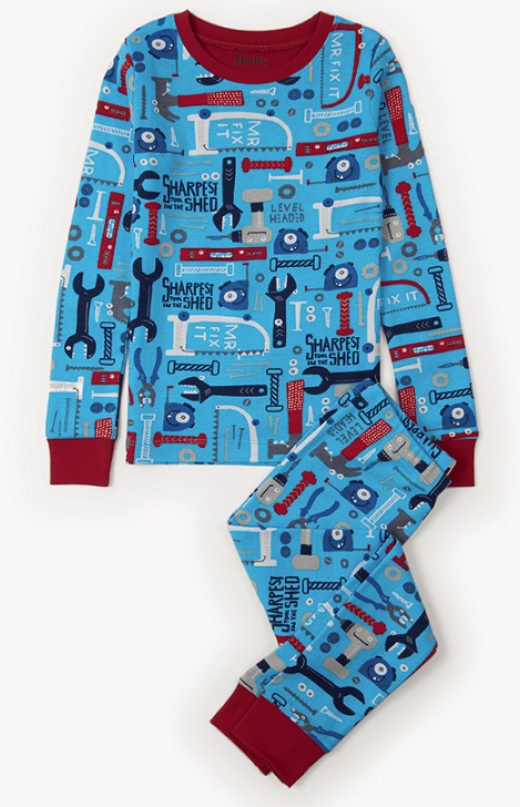 Hatley PJs - Lots of Tools Size 6 (3)
