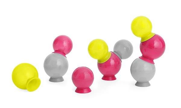 BOON - Bubbles - Pink, Sliver, Yellow (1)