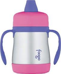 Foogo - Sippy Cup - 210mls - Pink & Purple (2)