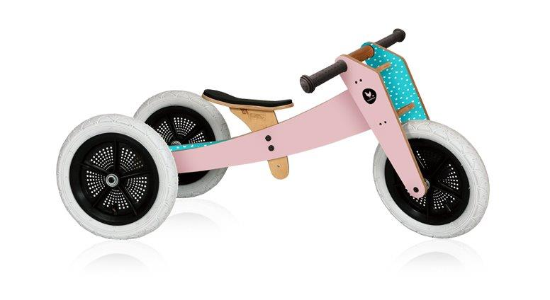 Wishbone 3-in-1 Balance Bike - Pink (1)