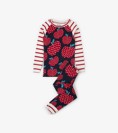 Hatley PJs - Polka Dot Apples