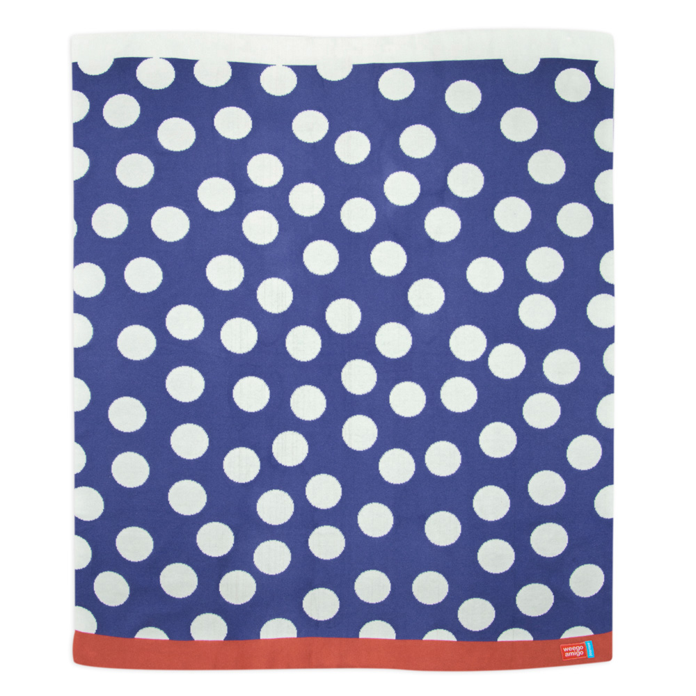 Weegoamigo - Journee Cotton Knit Blanket - Marty