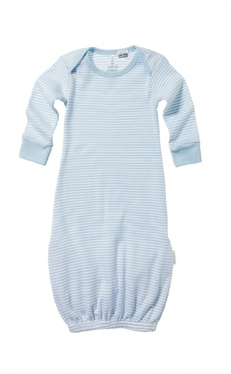 Purebaby Fold-up Bundler - Pale Blue Stripe