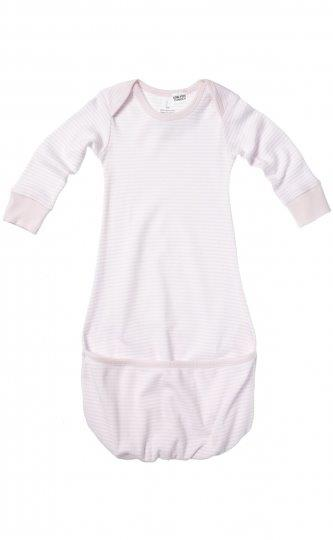 Purebaby Fold-up Bundler - Pale Pink Stripe