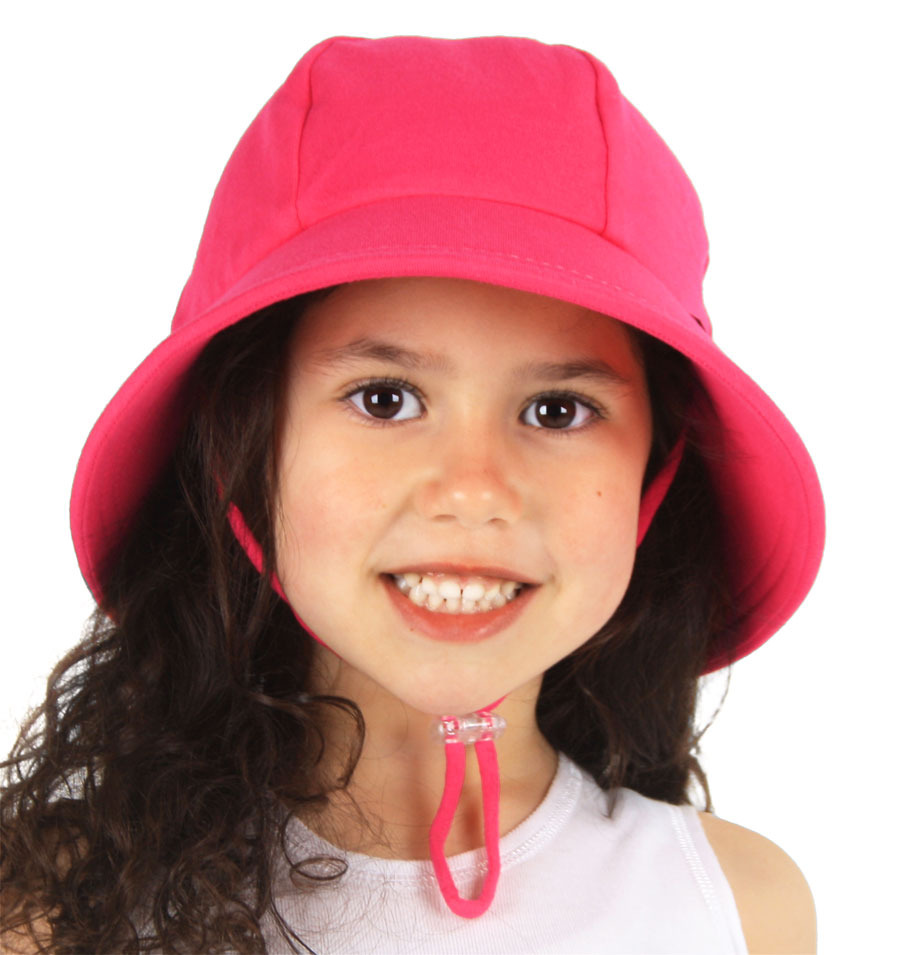 Bedhead - Ponytail Bucket Hat 'Bright Pink'