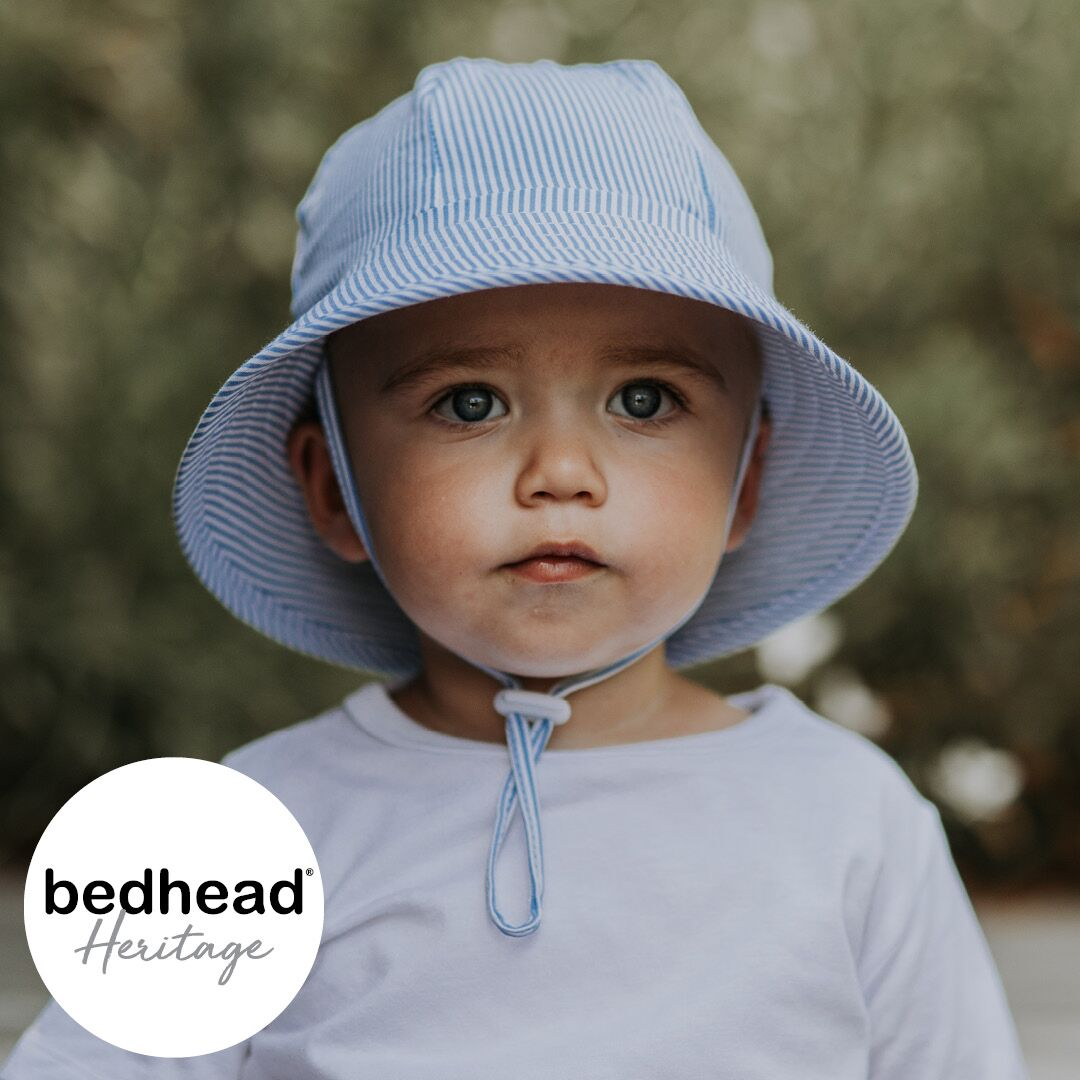 Heritage - Bedhead - Toddler Bucket Hat - 'Stripe'
