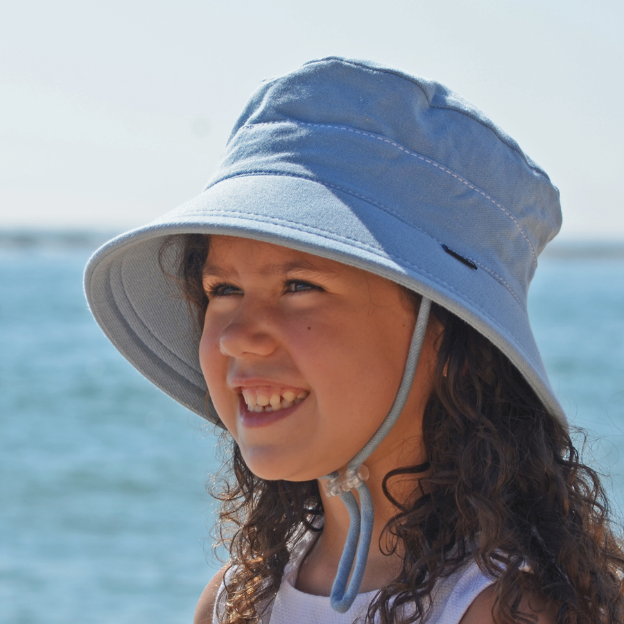 Bedhead -  Kids Bucket Hat 'Chambray'