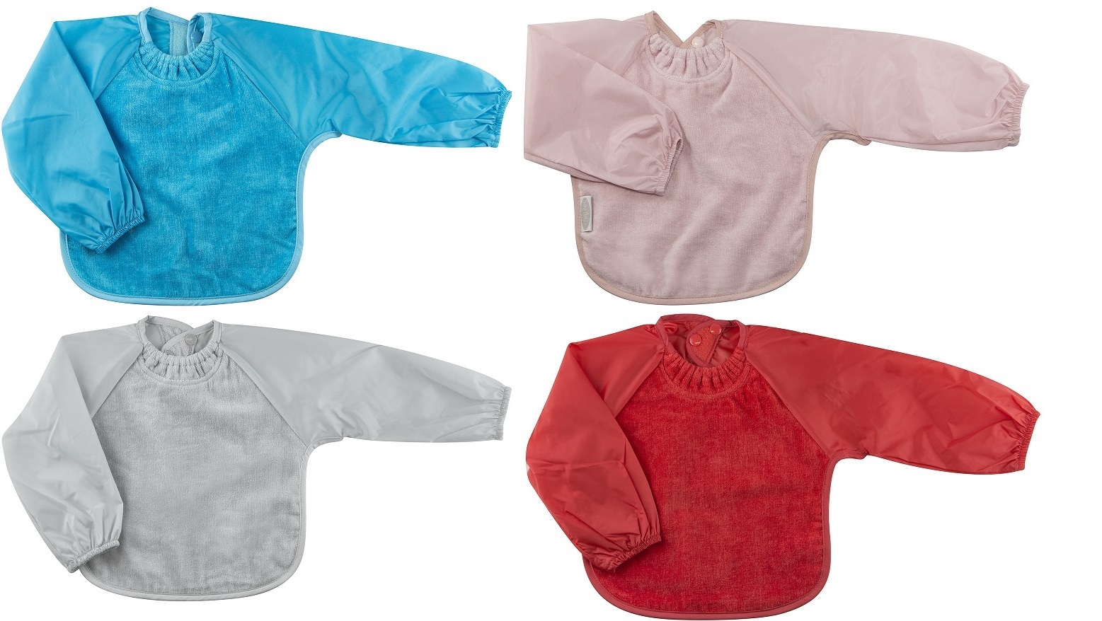 Silly Billyz Toweling Long Sleeve Bib 5 Months to 2 years