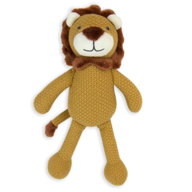 Little Linen - Pearl Knit Toy - Lion