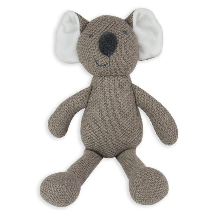 Little Linen - Pearl Knit Toy - Koala (HUB)