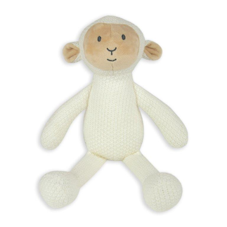 Little Linen - Pearl Knit Toy - Lamb