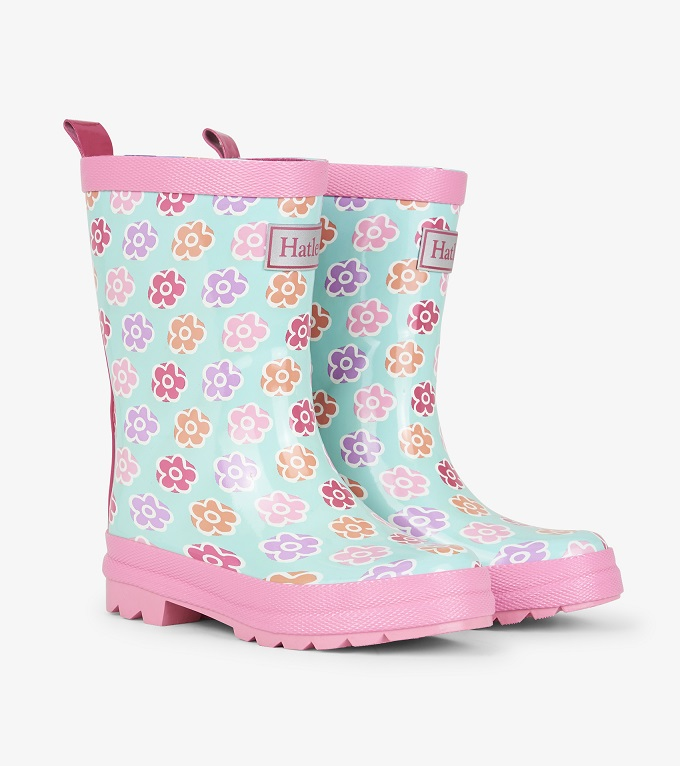 Hatley - Rain Boots - Flower Sketches