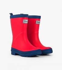 Hatley - Rain Boots - Red & Navy - Size 9