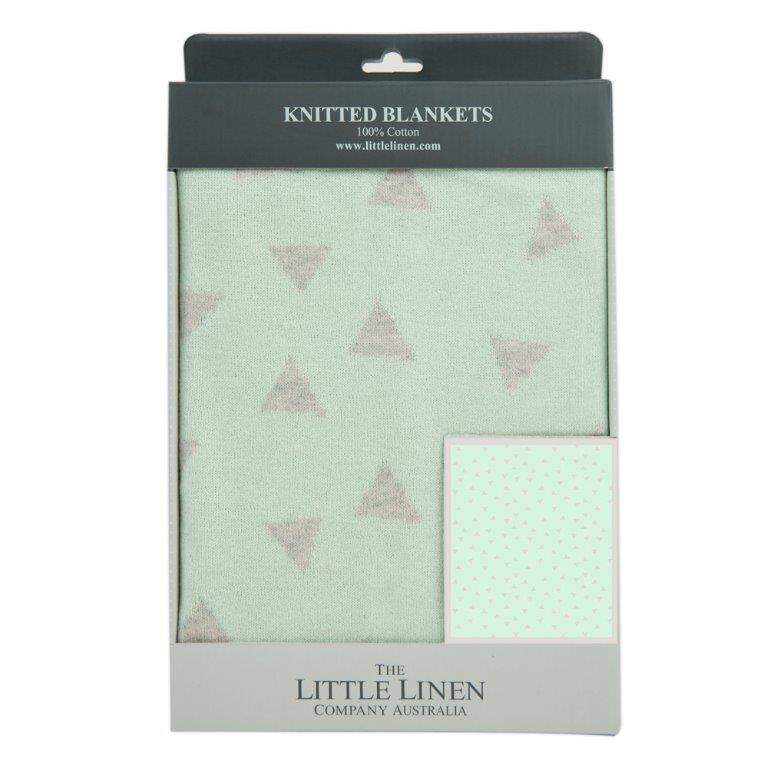 The Little Linen Company - Cotton Knit Blanket