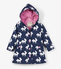 Hatley - Splash Raincoat - Colour Changing Unicorns