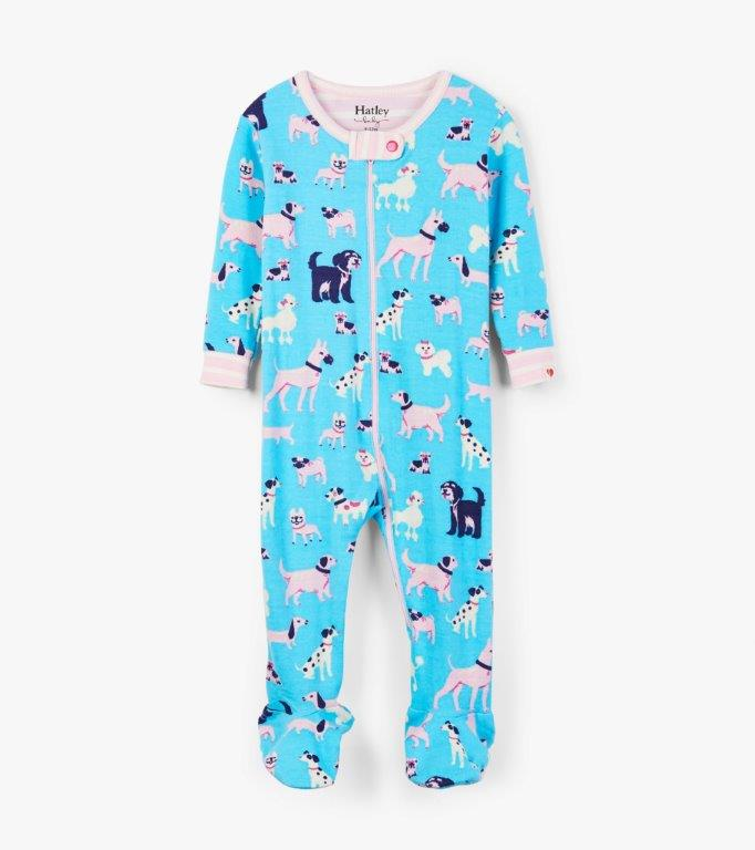 Hatley Babygro Footed - Playful Pooches