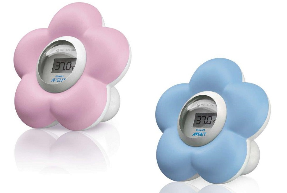 (Back order - Due 3 July)Avent - Bath and Room Thermometer Pink or Blue