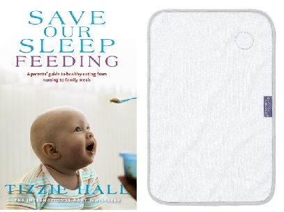 Tizzie Hall - Save Our Sleep ® - Feeding - Breast - Bottle - Solids - The International Baby Whisperer Book with FREE Burper Towel