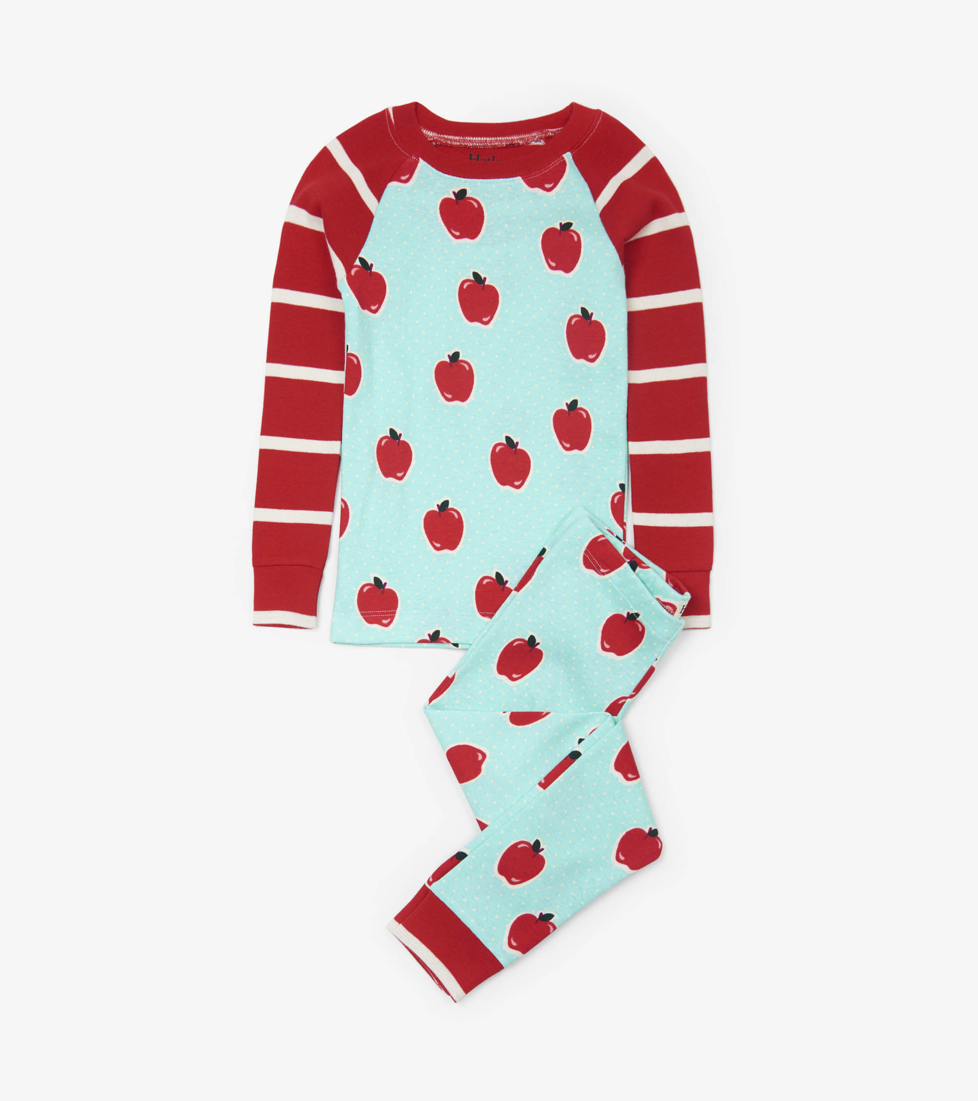 Hatley Organic PJs -  Apples and Dots
