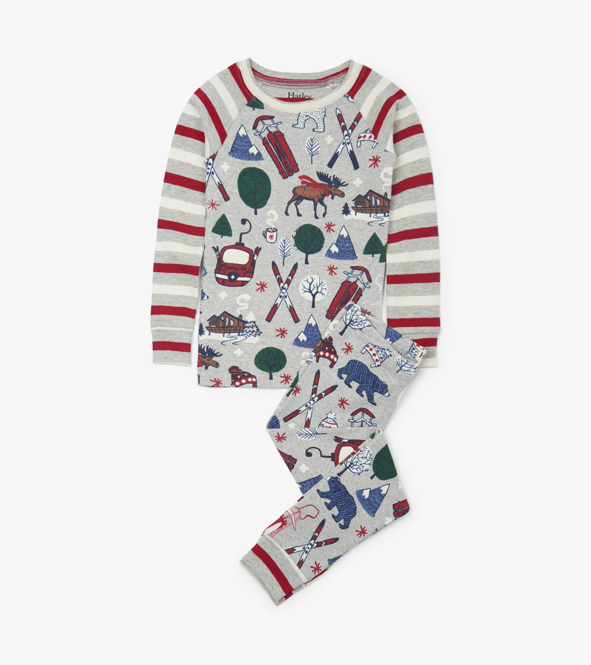 Hatley Organic PJs - Winter Traditions