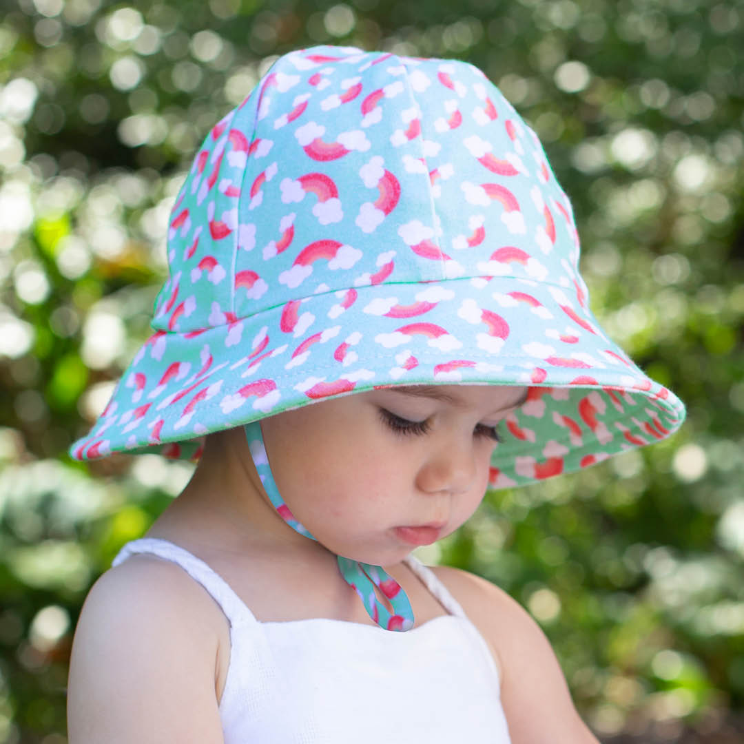 Bedhead - Toddler Bucket Hat - Rainbow' Print