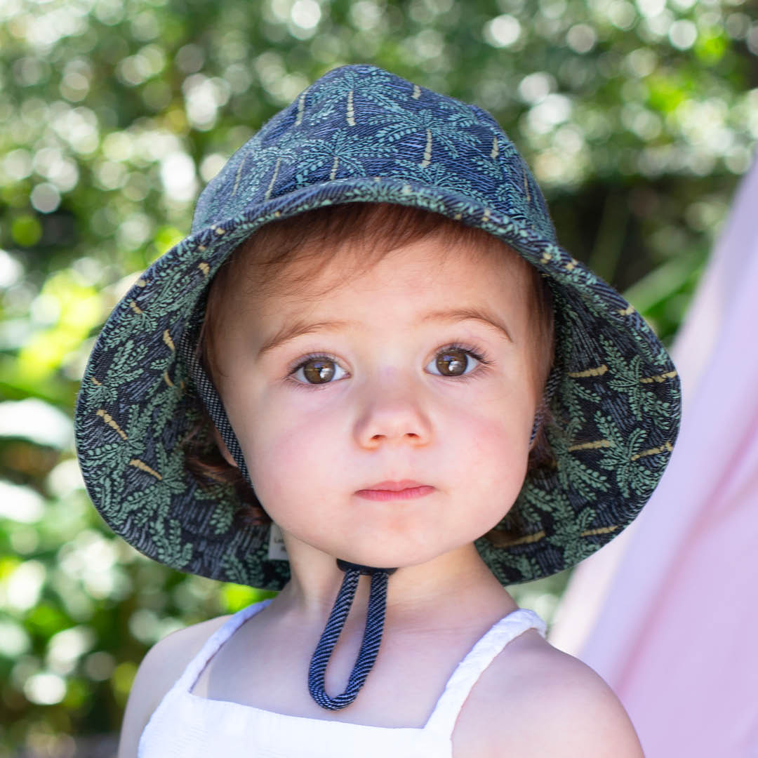 Bedhead - Toddler Bucket Hat - 'Palms' Print