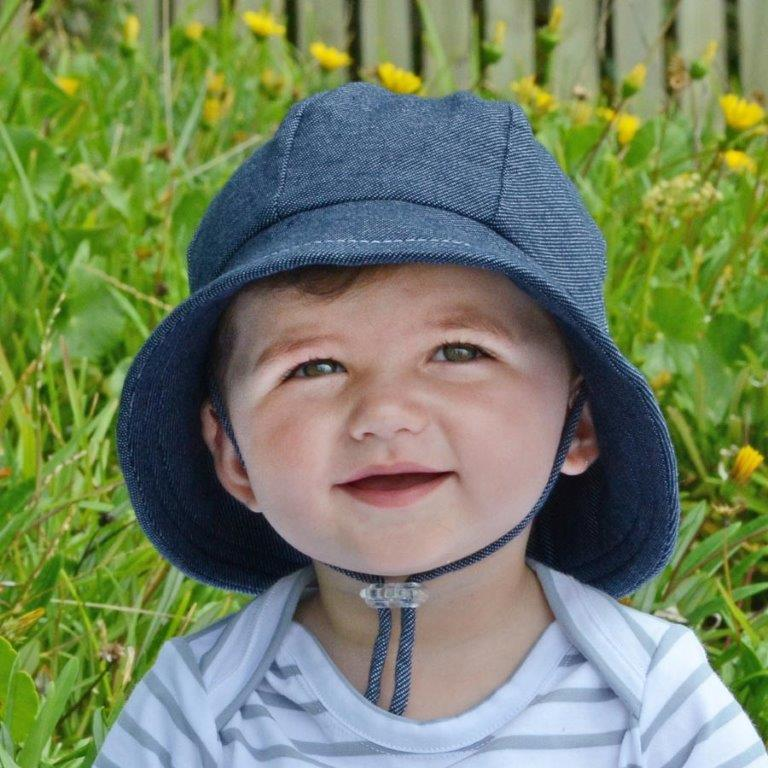 Bedhead - Toddler Bucket Hat - 'Denim'