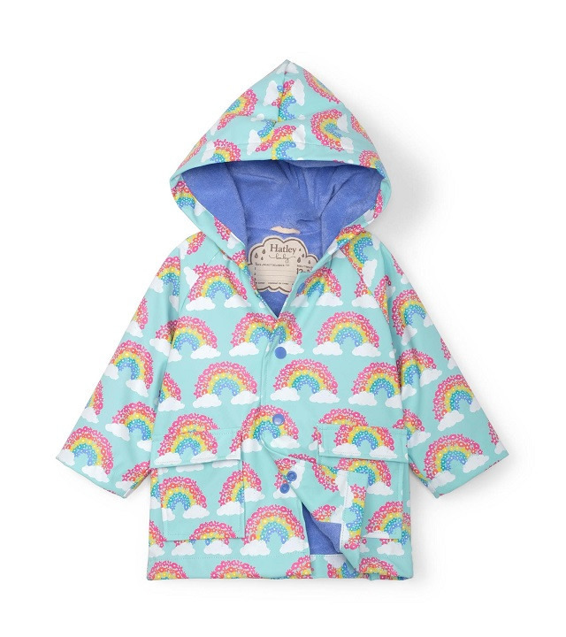 Hatley - Baby Raincoat - Magical Rainbows