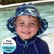 Bedhead - Bucket Swim Hat UPF50+ - Crocodile