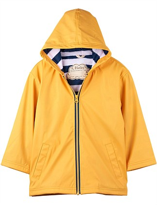 Hatley - Splash Raincoat - Yellow & Navy