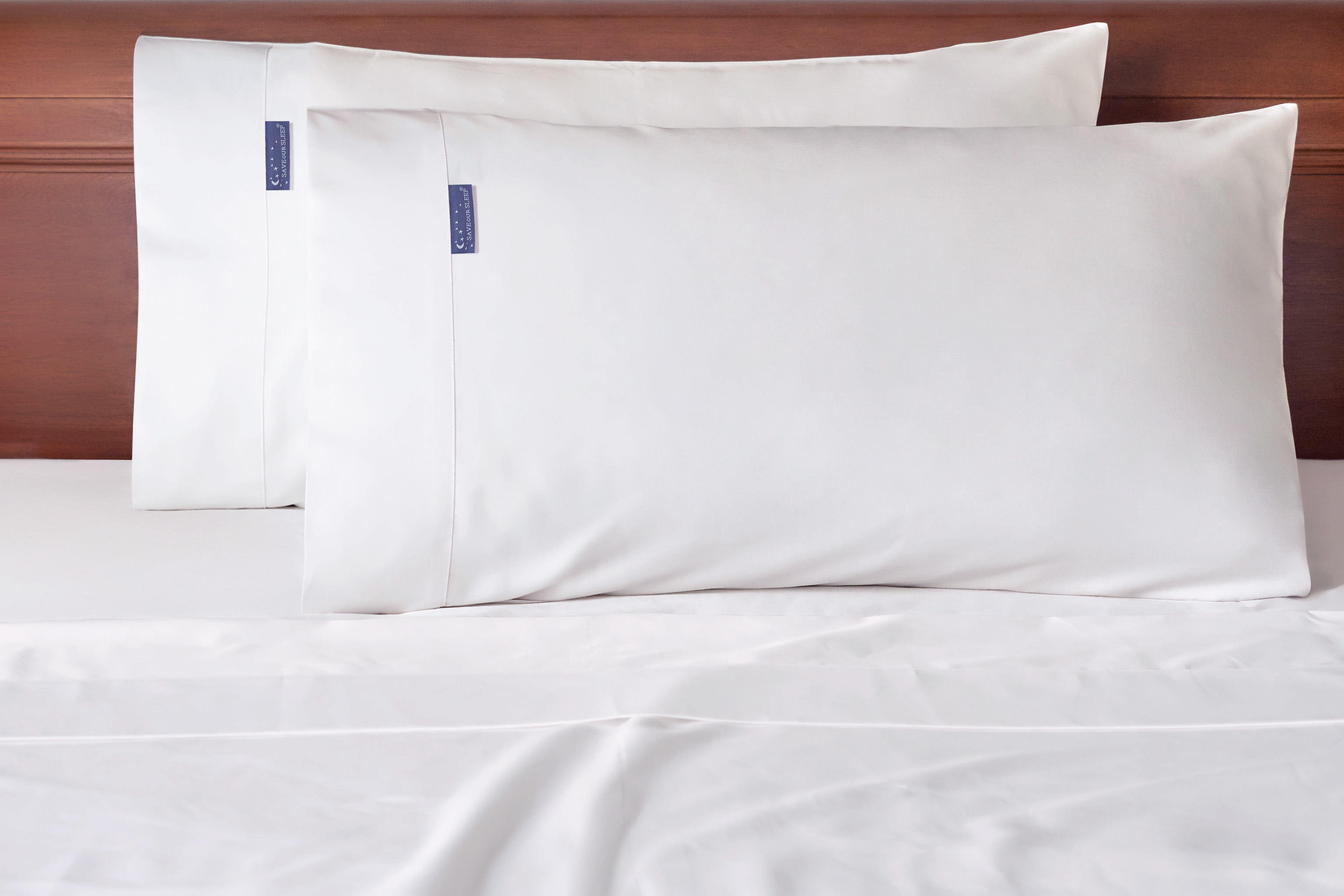 Save Our Sleep Queen Bamboo Sheets - White