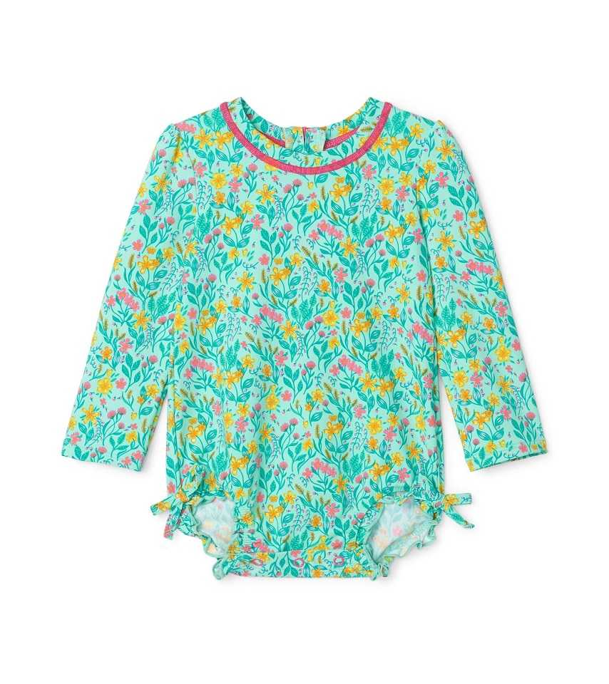 Hatley Rashguard One-Piece - Summer Garden