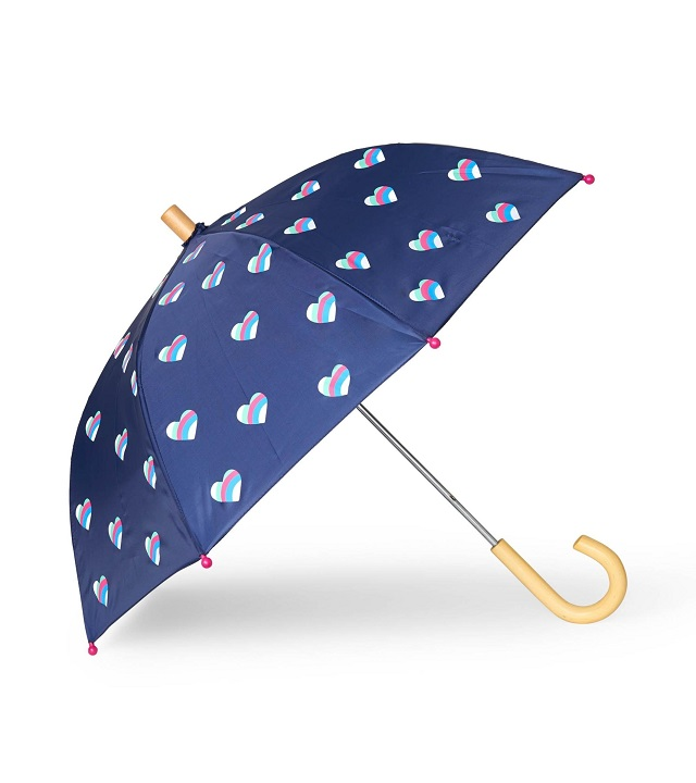 Hatley - Umbrella - Striped Hearts