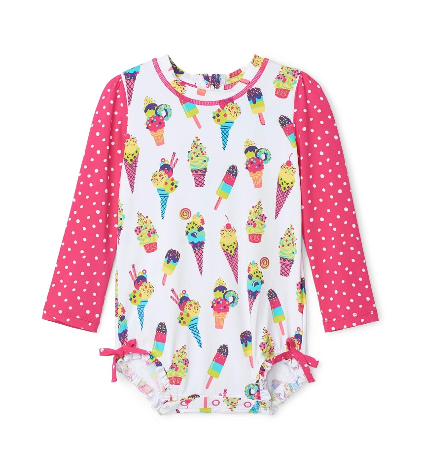 Hatley Rashguard One-Piece - Cool Treats