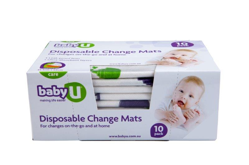 Baby U Disposable Change  Mats