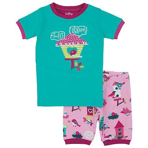 Hatley Short PJs - Bird House - Size 6 (2)
