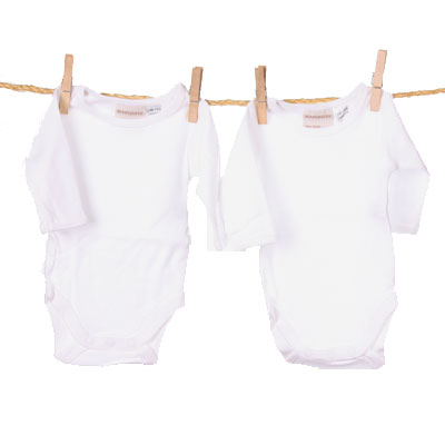 Marquise Long Sleeve Bodysuit - 2pk